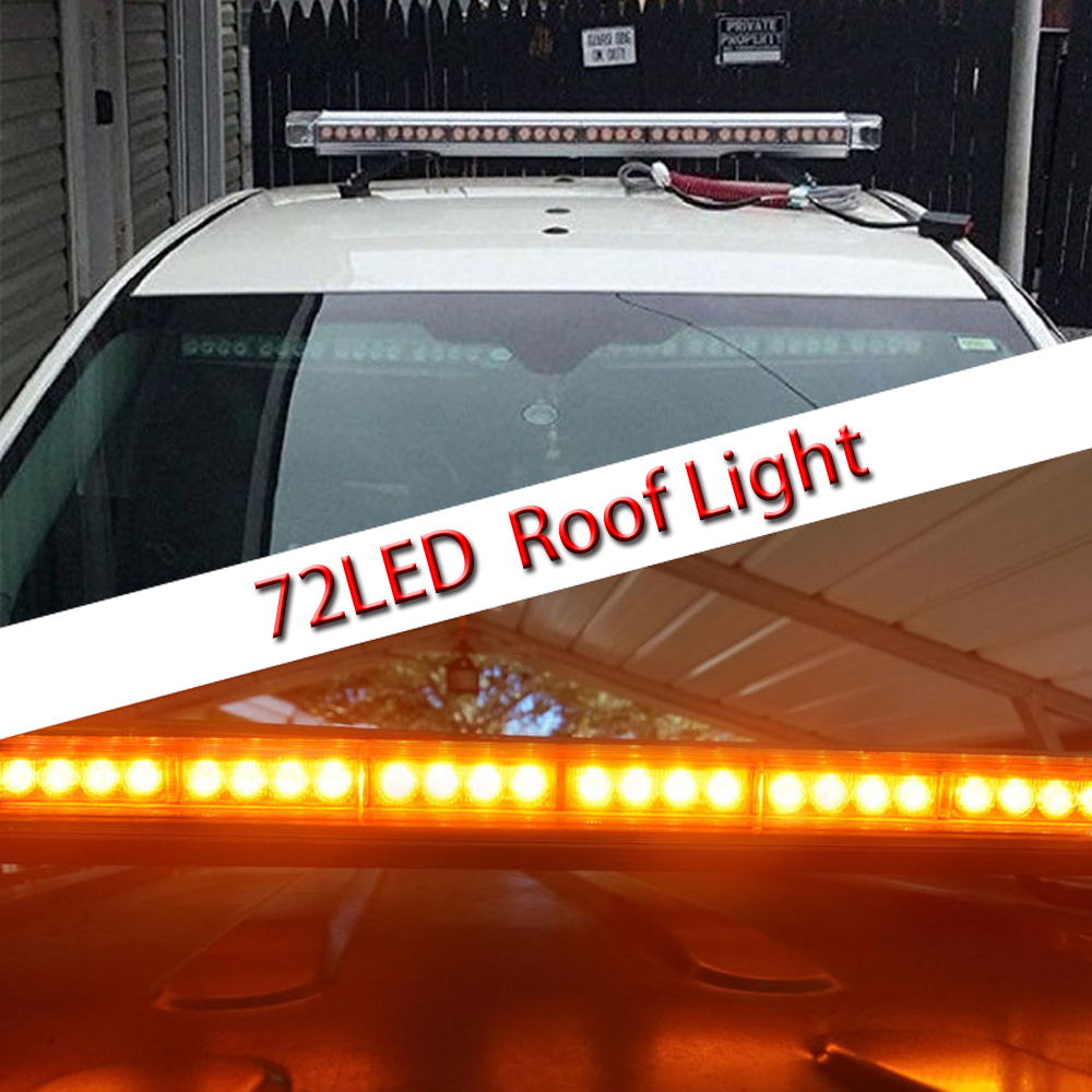72 led roof light