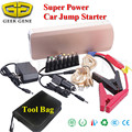 Geek Gene 2017 Multi-Function 18000mAh 12V Car Jump Starter 800A Peak Car Charger 2USB 2Laptops Power Bank SOS Lights Free Ship