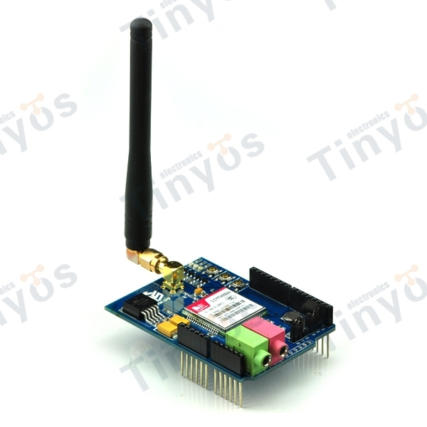 GSM GPRS Shield For Arduino with antenna