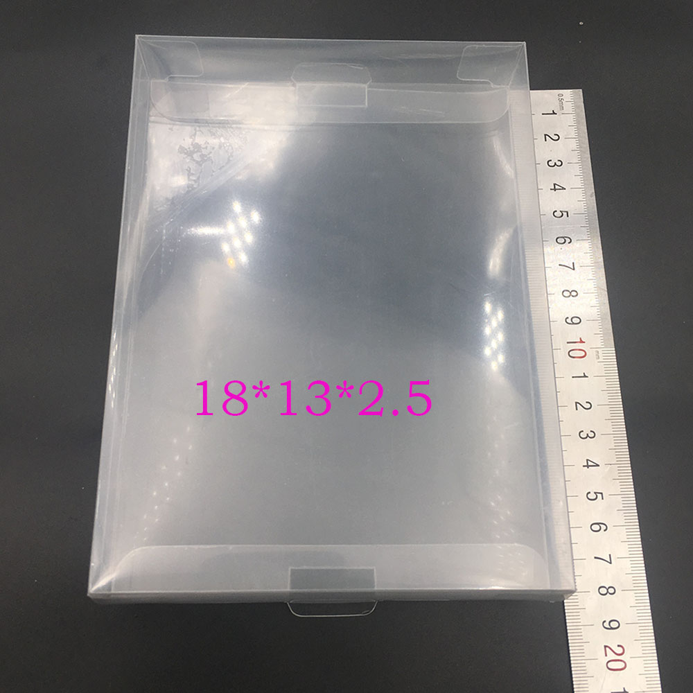 30PCS For NINTENDO NES Box Protectors Custom Clear Video Game Display Cases Sleeves