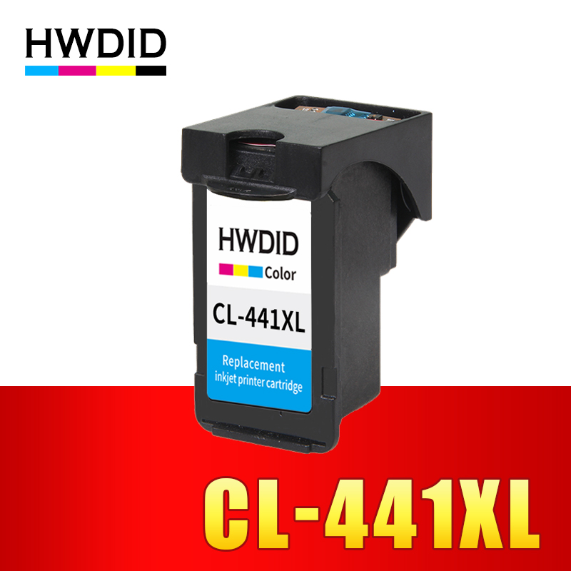 HWDID CL 441 Refilled Ink Cartridge Replacement for Canon CL441 xl for PIXMA MG4140 MX394 MG2240 MG3180 4180 MG4280 MX378 MX438 цена 2017