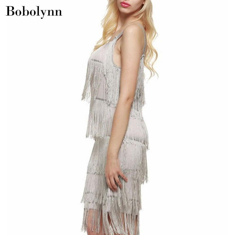 Summer Black Sexy Wrap Off Shoulder Fringed Dress Elegant and Magnificent Women