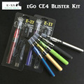 E-XY CE4-EGO kits new hot sale cheapest ce4 blister kits Electronic Cigarette ce4 evod/ego atomizer 650mah 900/1100mah battery