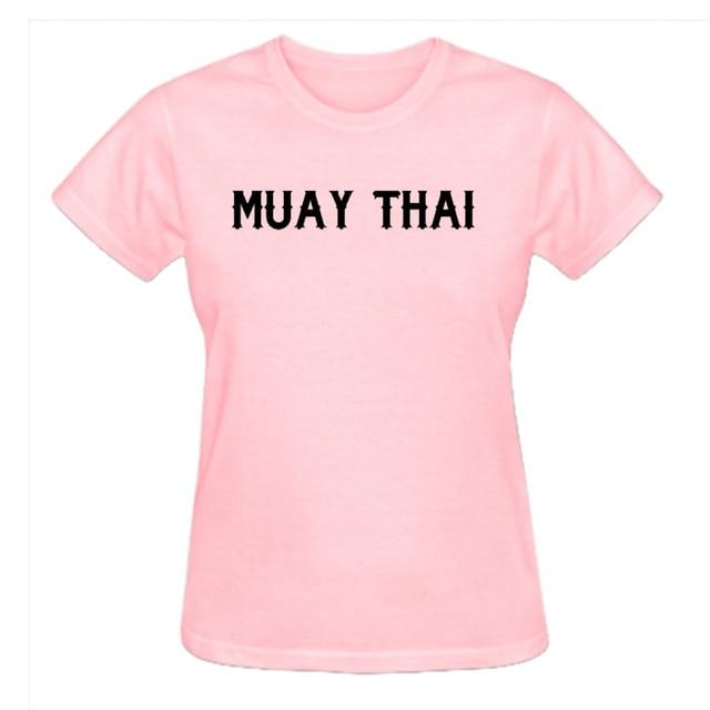 Rttmall Hot Selling Cotton Muay Thai Symbol Womens Top Summer T