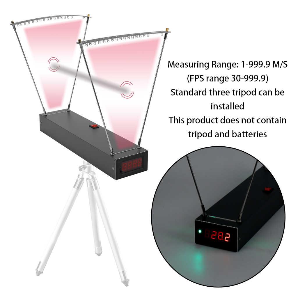 Велометрический измеритель скорости, высокая чувствительность, измерение скорости рогатки, хронограф для стрельбы