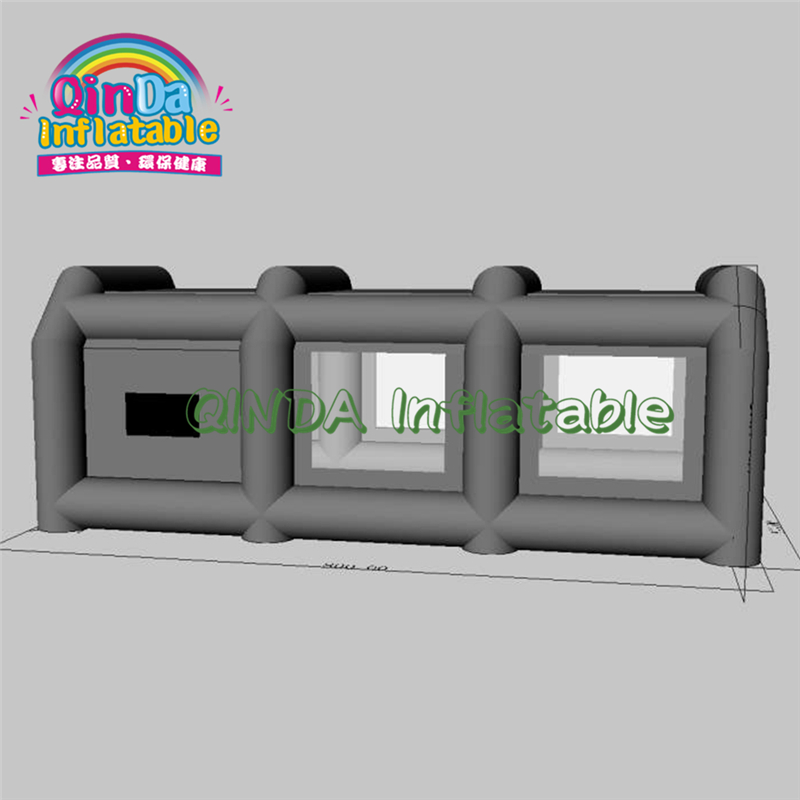 Free Customize Spray Paint Inflatable Spray Booth Tents Portable Spray Booth For Car Painting Car Tent