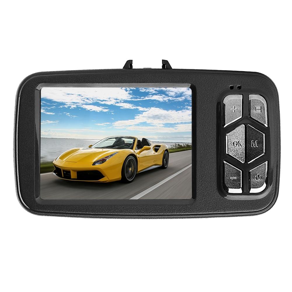 2,4 inch Ultradünne Digital Video Recorder 360 Grad Auto DVR 1200 Watt Anti schütteln Camcorder Dash Kamera 1080 P