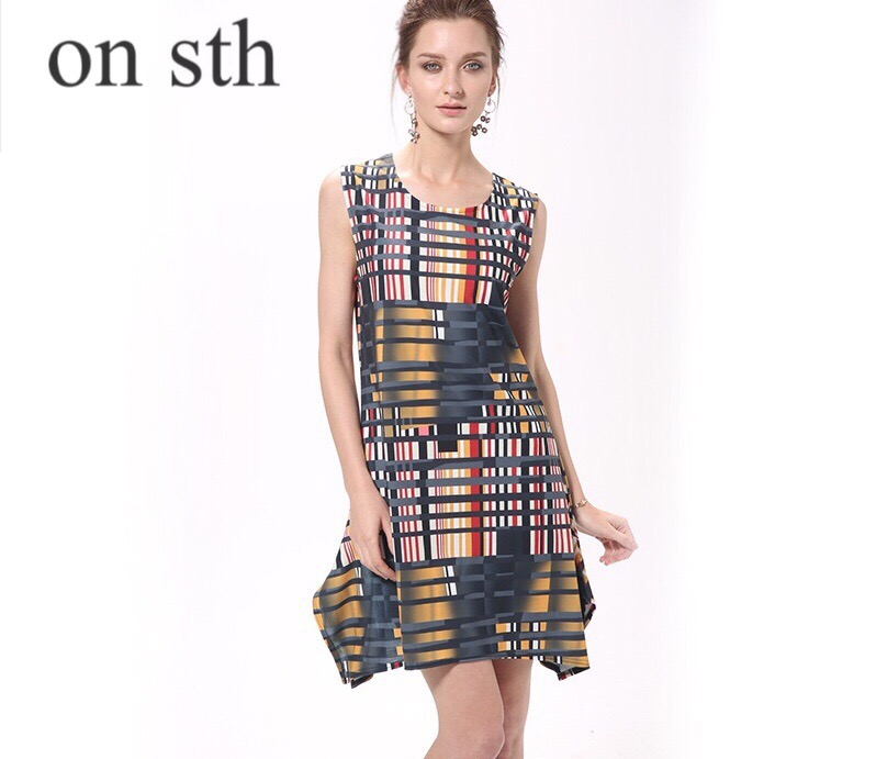 2018 New Product Market Women Dress Spring Summer Large Size Digital Printing 3D / Stereo Pattern Irregular Dress