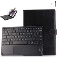 9'' 10 inch Universal Bluetooth Keyboard Case For ASUS Lenovo Huawei Tablet Flip Wireless Keyboard Leather Stand Cover+Pen
