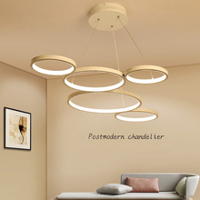 цены на Free Shipping Remote Dimming Modern Led Pendant Light Led Pendant Lamp Aluminium 90-265V Suspension Lamp for Dinning Room  в интернет-магазинах