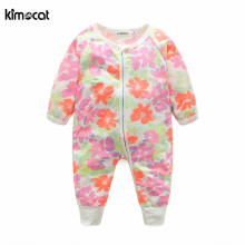 Kimocat 2017 new arrival baby clothes boy girl cotton long sleeve spring autumn jumpsuit kids boys girls clothes romper clothing winter baby boy girl clothes long sleeve casual cotton clothing solid hooded kids boys girls clothes comfortable coat j1