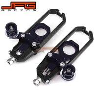 Chain Adjusters Tensioners With Spool Fit for SUZUKI GSXR1000 GSX1000R GSXR 1000 2009 2010 2011 2012 2013