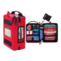 Mini First Aid Kits Survival Gear Medical Trauma Kit Rescue Bag Kit Car Bag Emergency Kits