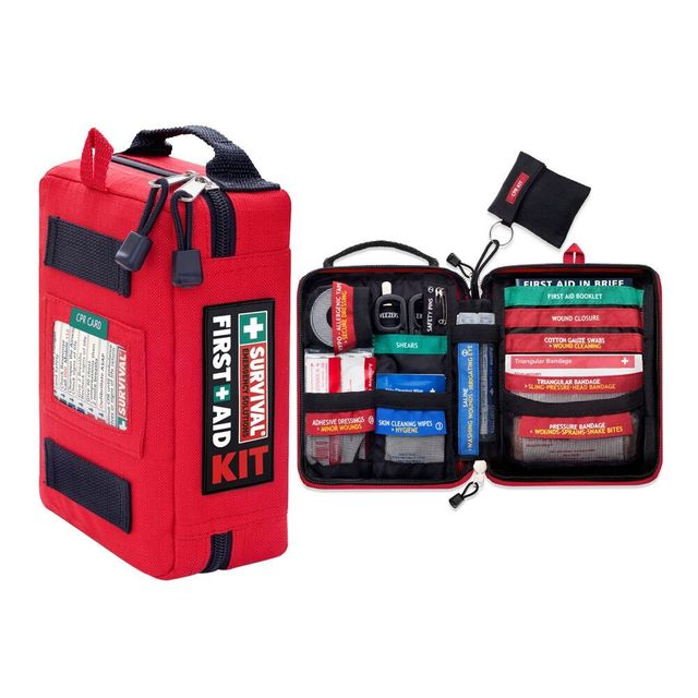 Mini First Aid Kits Survival Gear Medical Trauma Kit Rescue Bag Car Emergency