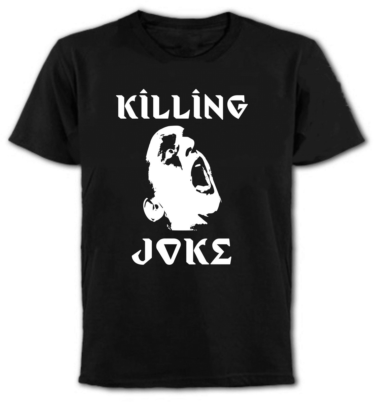 New Killing Joke *Pylon English Punk Rock Band Mens Black T-Shirt Size S To 3XL New Design Cotton Male T Shirt Designing