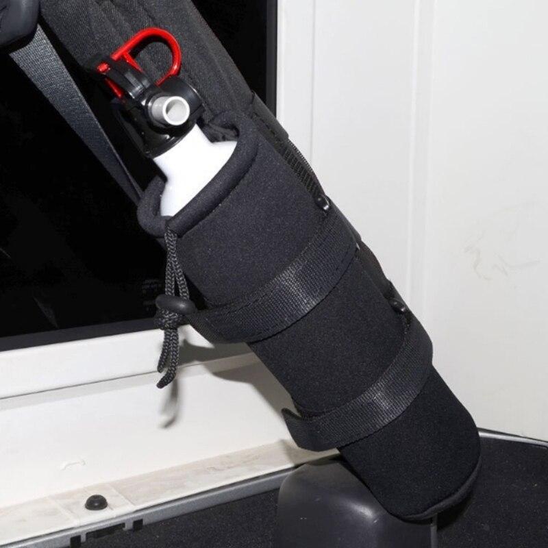 Нейлоновый брусок Огнетушитель держатель предохранительный комплект для Jeep Wrangler