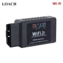 WiFi умный мини ELM327 автомобильный OBD2 может Сканер шины Интеллектуальный OBD 2 II диагностический инструмент для iOS для iPhone для iPad Android Wi-Fi