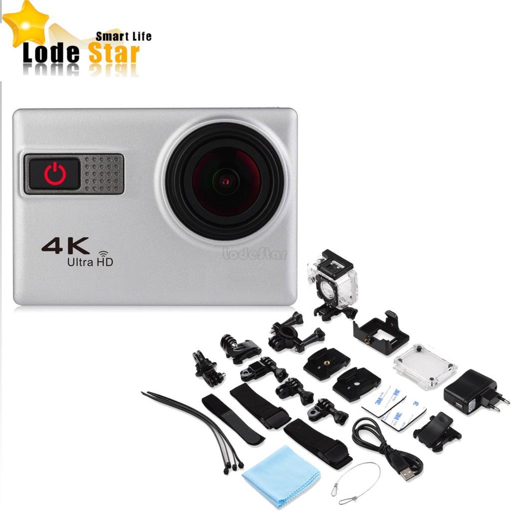 Prix pour Nouvelle Marque F68 4 K Ultra HD WiFi Sport Action Caméra 12MP plongée Mode Scène de Nuit Novatek 96660 2.0 pouce Écran LTPS Dvr caméscope