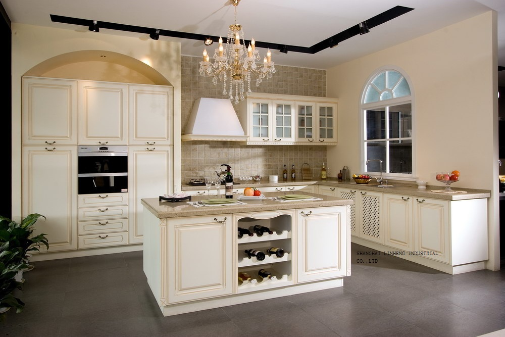 Aliexpress.com : Buy solid wood kitchen cabinets vintage ...