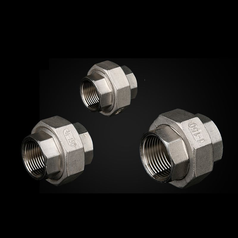 3/4 inch Female BSP Internal Thread 304 Stainless Steel Live Joint Coupling Union Connector Tube Pipe Fitting cnz hosetail connector fitting barbed female bsp 1 1 2 inch thread set of 2