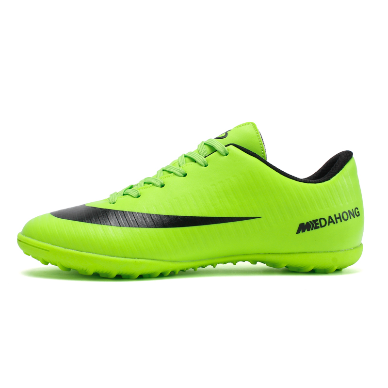 Soccer-Shoes Football-Boots Superfly Cheap Indoor Original Kids TF Chuteira Breathable title=