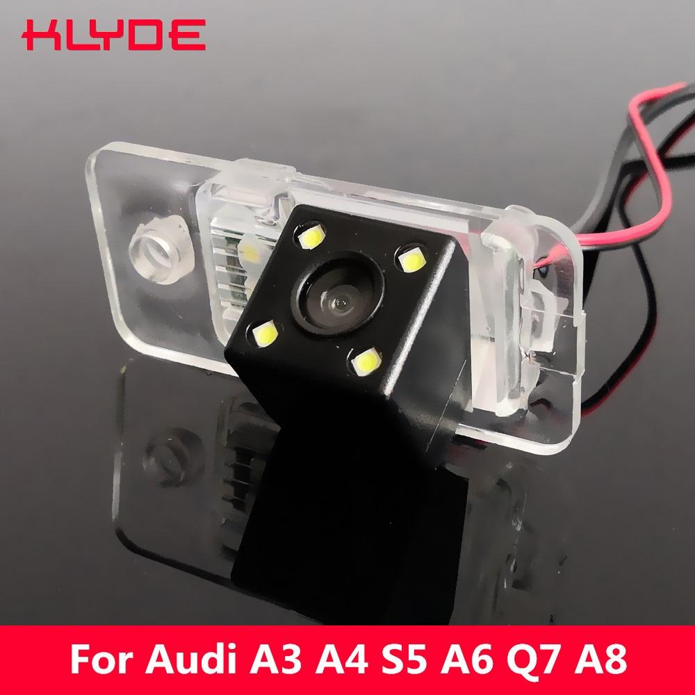 Backup Parking Camera 170Degree CCD Special Car Rear View Reverse For Audi A3 S3 8P A4 S4 RS4 B7 A6 C6 S6 RS6 4F Q7 SQ7 4L