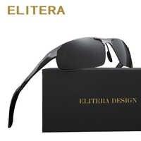 ELITERA Aluminio A Estrenar gafas de Sol Polarizadas de Los Hombres Gafas de Sol de Moda de Conducción de Viaje Masculina Gafas Oculos gafas de Tan E8177