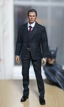 1/6 scale figure doll Batman Wayne Christian Bale 12″ action figure doll including clothes, body, head Model Toys . No box