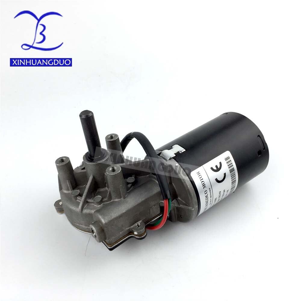 6280 DC24V 30 50 100 rpm Électrique Ver motoréducteur Droit version Auto-verrouillage Garage porte remplacement essuie-glace Grill