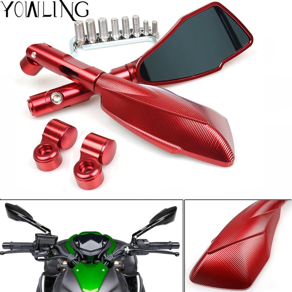 Мотоцикл зеркало заднего вида Алюминиевый задний боковые зеркала для дукати монстр 696 796 821 1200-х 889 Хайпермотард 1200 1199 1099 1000