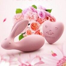 USB Recharge Clitoris Bunny Shaker For Lesbian