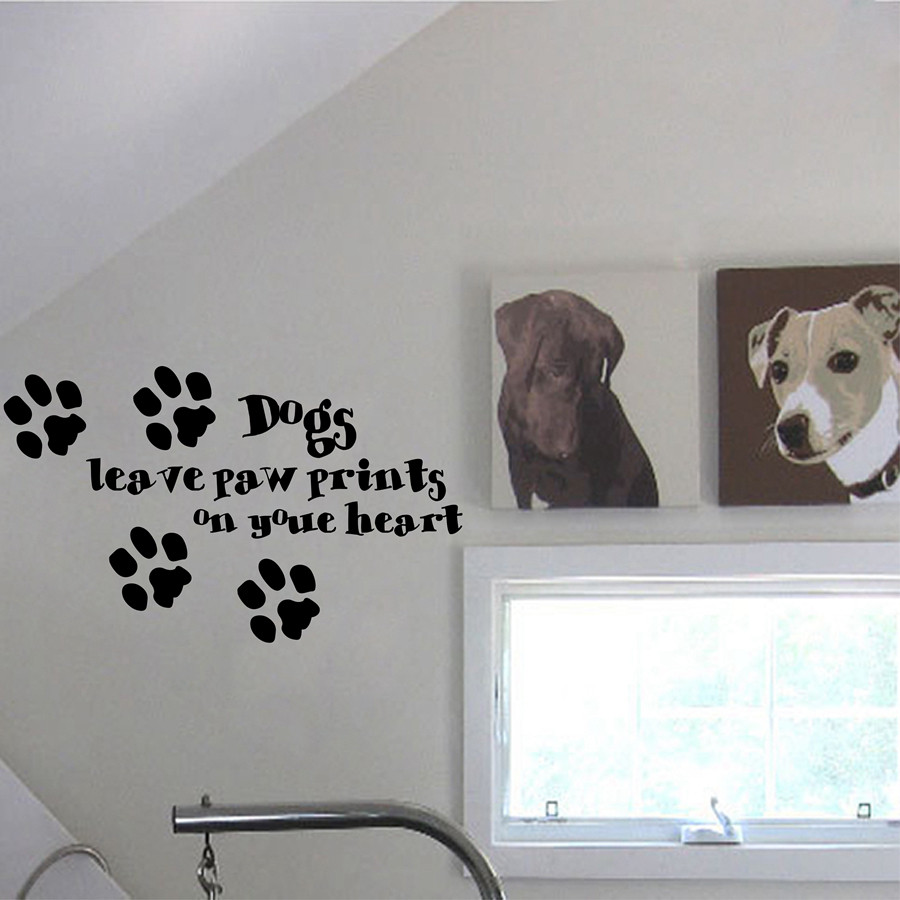 Cute dog sayings quote hot dogs leave paw prints on your