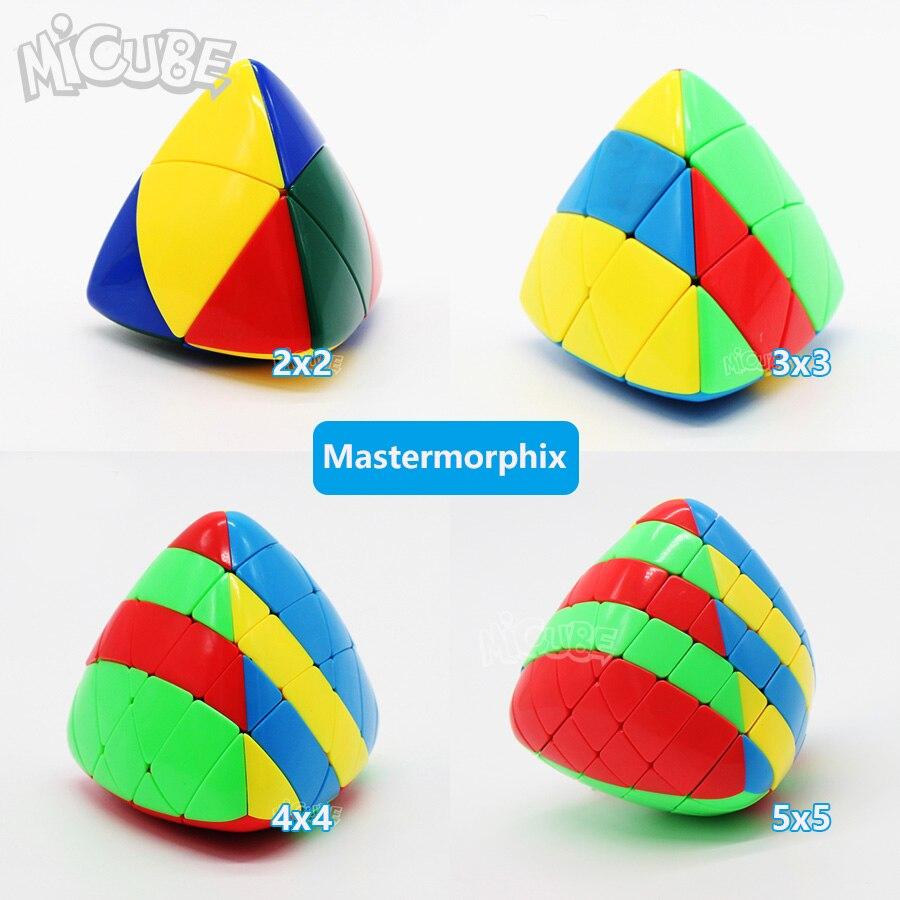 Set 4pcs 2pcs Shengshou Mastermorphix 2x2 3x3 4x4 5x5 Rice Dumpling Stickerless Magic Cube Puzzle Toy Colorful Multicolor 5x5x5Set 4pcs 2pcs Shengshou Mastermorphix 2x2 3x3 4x4 5x5 Rice Dumpling Stickerless Magic Cube Puzzle Toy Colorful Multicolor 5x5x5