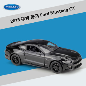 Image 4 - WELLY 1:24 Scale Diecast גבוהה סימולציה דגם צעצוע רכב מתכת פורד מוסטנג GT קלאסי סגסוגת צעצועי רכב לבנים מתנות אוסף
