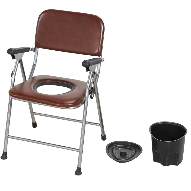 Casa Conveniente Cadeira Cômoda no Reforço Da Não-escorregar Velho Pessoas Mulher Grávida Fezes Potty Cadeira com Comadre Segura e Estável