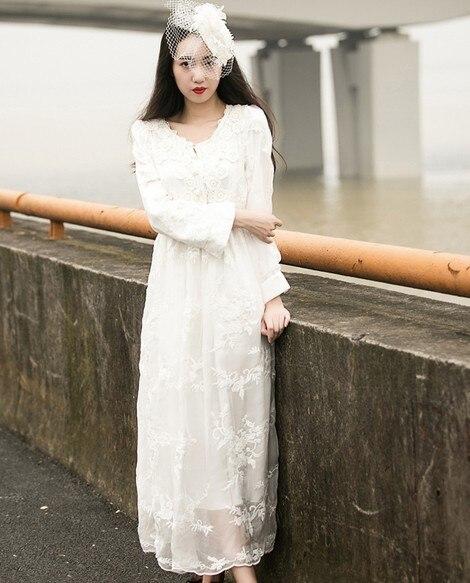 Japanese Mori Girl Vintage Greek Goddess Style Wedding Dress For ...
