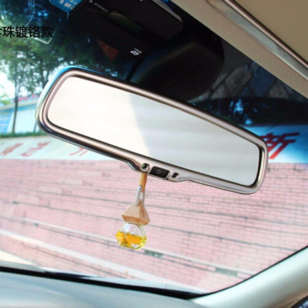 interior accessories for infiniti Q50 QX50 QX60 QX70 EX driver front roof rear view mirror decorative cover sticker trim frame