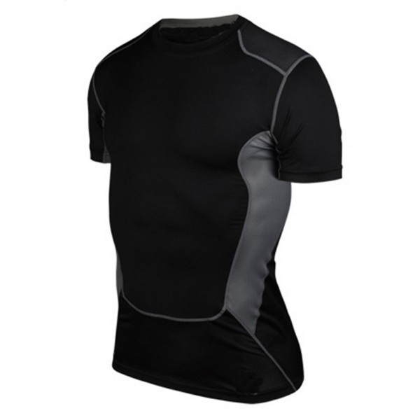 Men Compression Under Base Layer   Top   Tight Short Sleeve   Tank     Tops   YRD