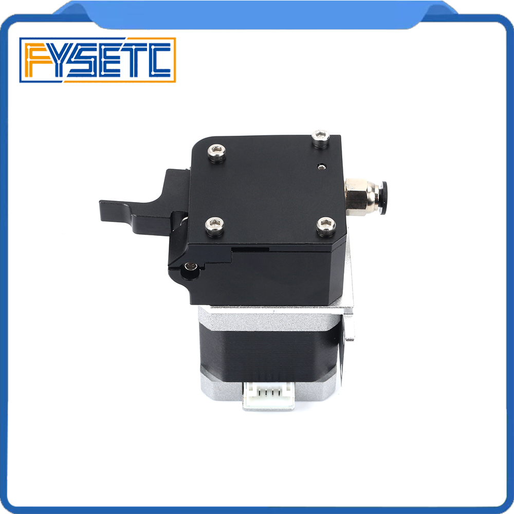 All Metal Black Titan Aero Extruder 1.75mm For Prusa i3 MK2 3D Printer For Both Direct Drive And Bowden Mounting Bracket