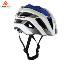 Discount 2017 New Coming LANOVA Safety MTB Mountain Road Bike Bicycle Helmet Riding Cycling Helmet Safety Integral Helmet M/L