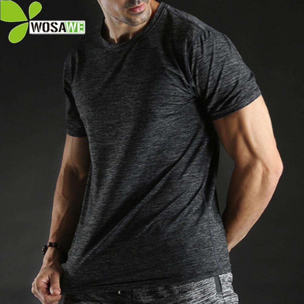 BARBOK Running T Sports Shirts Short Sleeve Jogging Clothes Tight Sweatshirts Jogger Gym Sports Breathable Gym T Shirt Men in Running T Shirts from Sports Entertainment