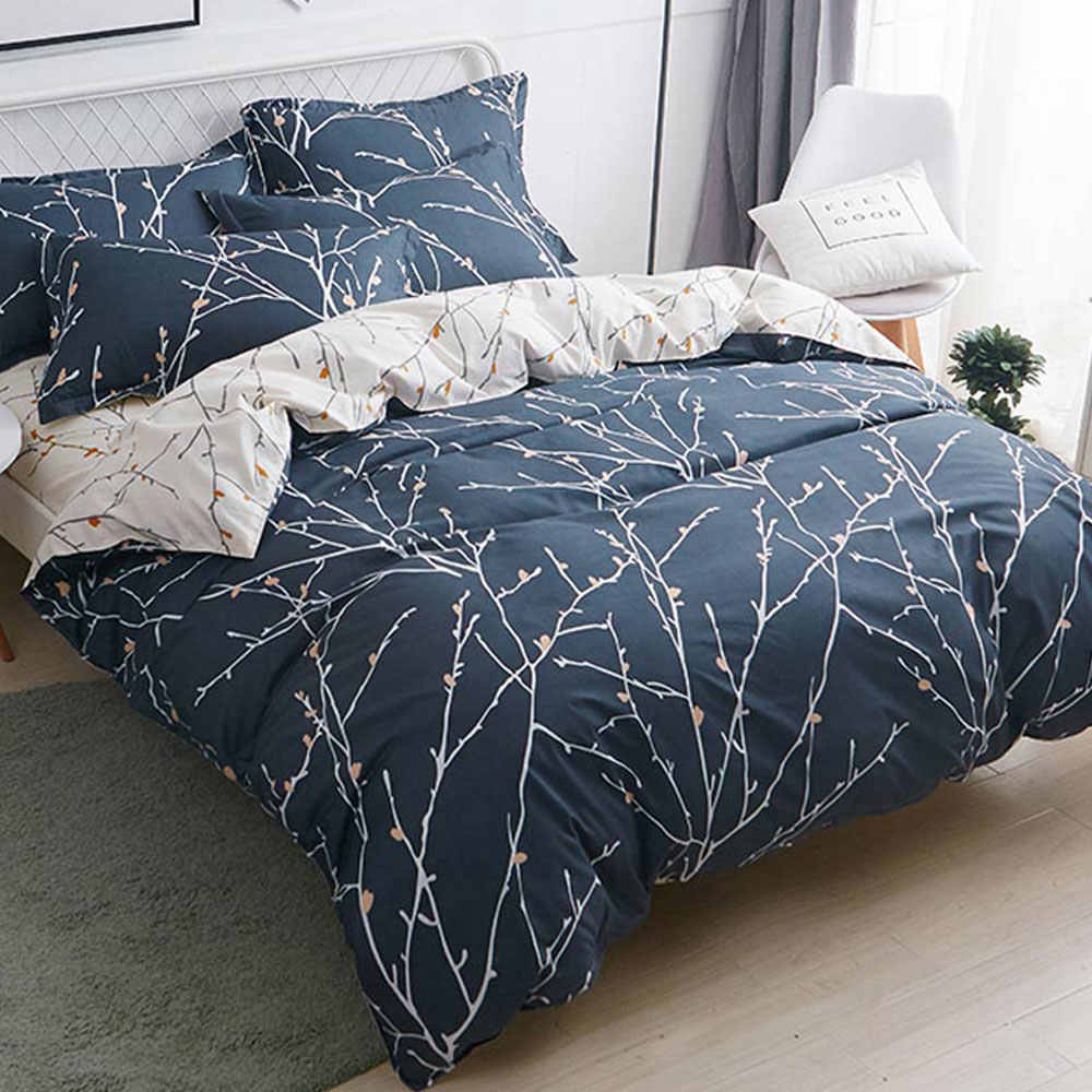 Svetanya print Bedding set cheap sheet Pillowcase Blanket /Duvet/Quilt Cover set Bed Linens