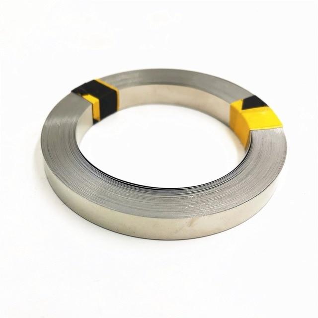 Tira de níquel puro de 5 metros 99.96% para máquina de soldadura por puntos de batería li 18650 equipo soldador cinta de níquel para paquetes de baterías