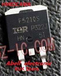 Real 100% Original NEW F5210S IRF5210S IRF5210STRLPBF IRF5210SPBF Power MOSFET -100V -40A D2PAK 50PCS/LOT