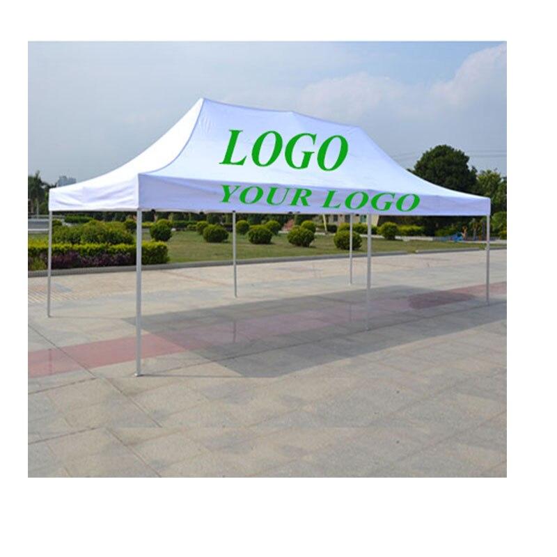 Chine Pop Up Exposition Gazebo Publicité Tente personnalisé couleur personnalisée logo 3x6 m auvent pour vente