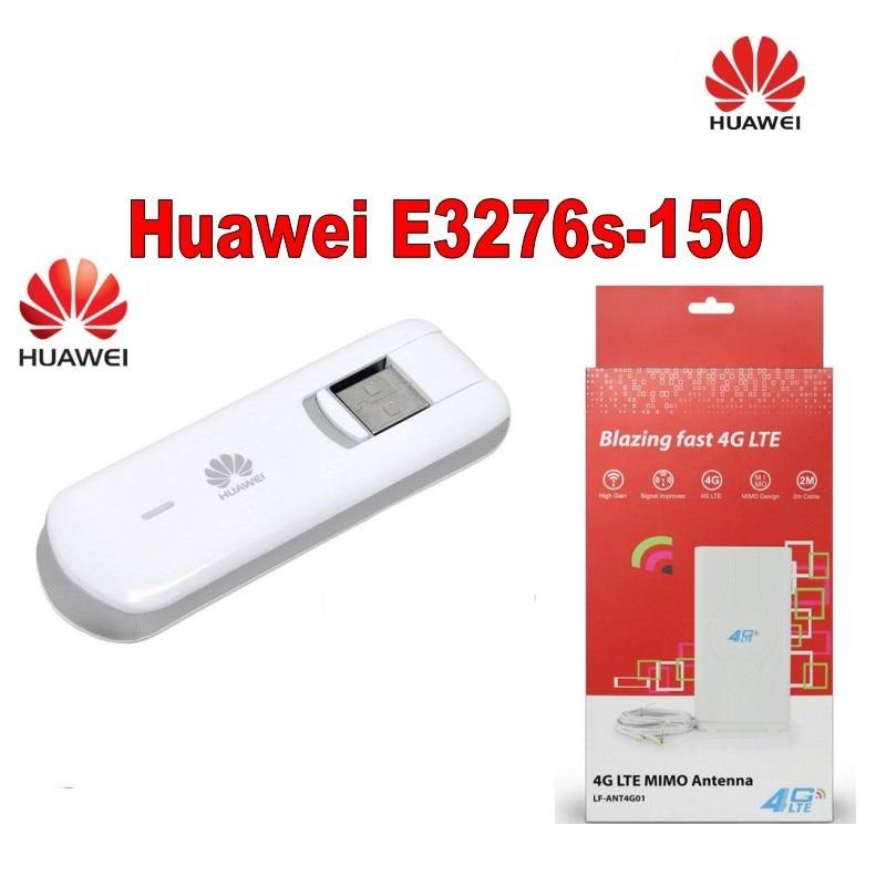Αρχικό ξεκλειδωμένο ασύρματο μόντεμ Huawei E3276s-150 150Mbps 4G LTE FDD με κεραία 4 g