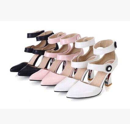 2016 Negro Paquete Elegante Personalizada rosado Mujer Moda Yardas Para Sandalias La Tendencia Con 32 Nueva Verano En Baotou blanco Forma 43 rwZCUxrq6