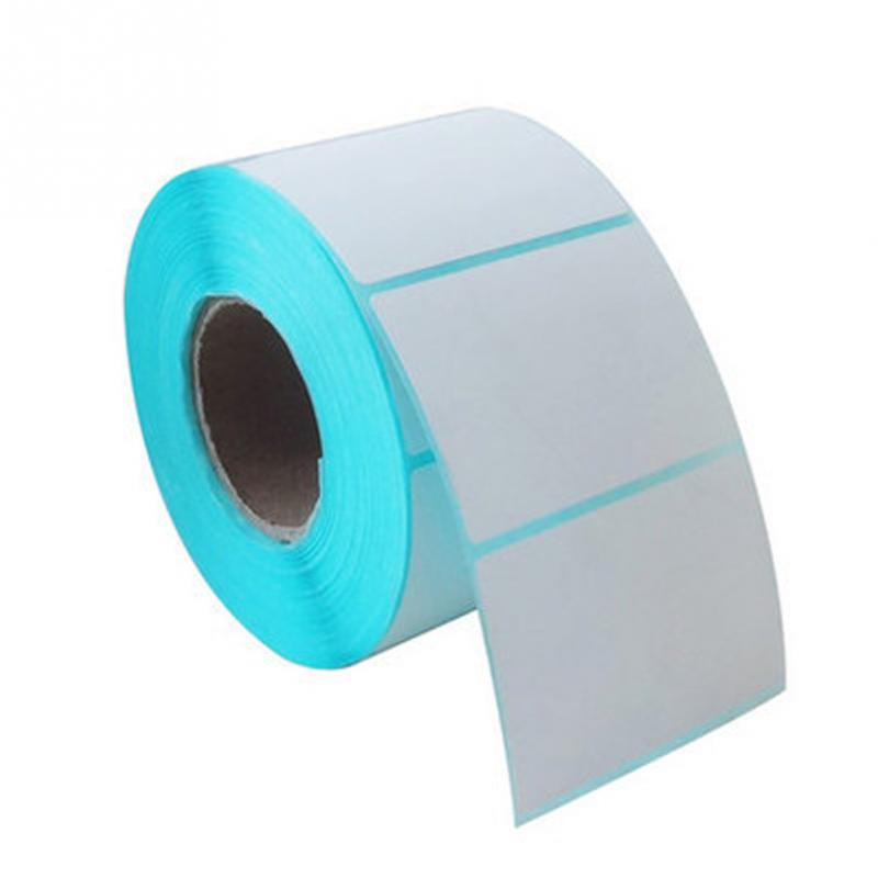 Adhesive Labels Paper Thermal Paper On A Roll Sticker Household White On Rolls Adhesive Label 700pcs 5*4cm #823 NEW