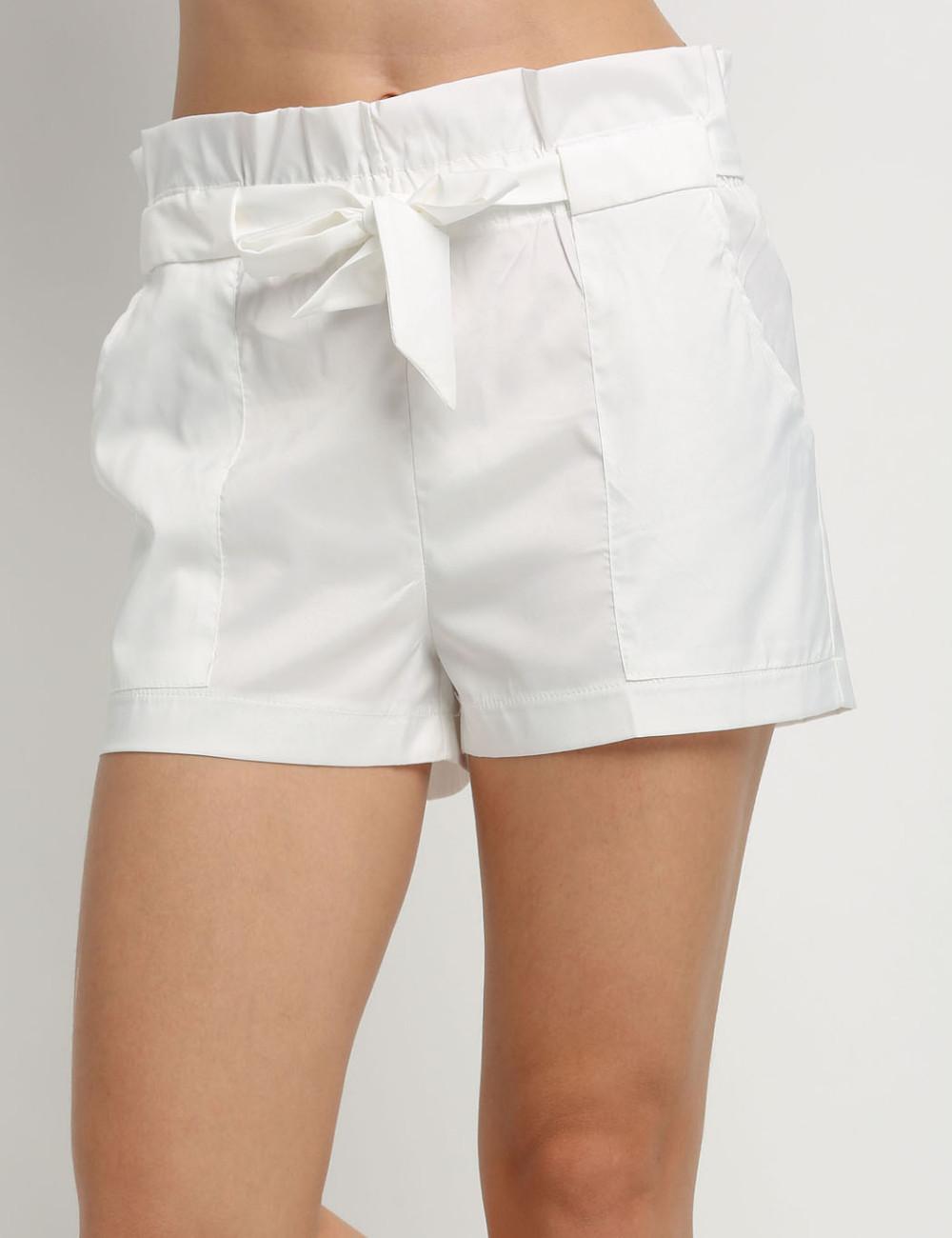 HTB1D4wINFXXXXaOXFXXq6xXFXXXT - High Waist Shorts Loose Shorts With Belt Woman PTC 59