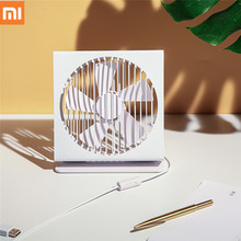 Xiaomi Original Vh Ce 7 Inch Portable Mini Metal Mute Fan 5 Blade Dual Mode Home Office Desk Brushless Motor Fan White And Black стоимость